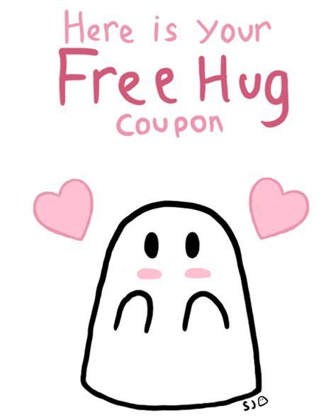 free hug free hug ghost coupon by lun shadowman on deviantart