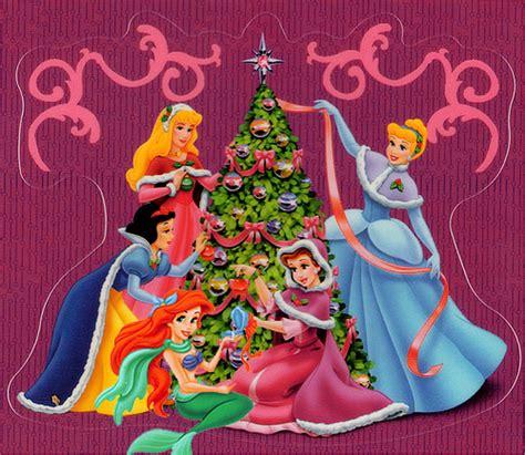imagenes feliz navidad disney imagenes de las princesas en navidad imagui
