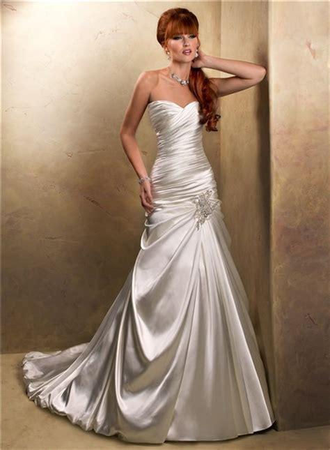 hochzeitskleid corsage glitzer a line sweetheart corset back glitter ivory satin wedding