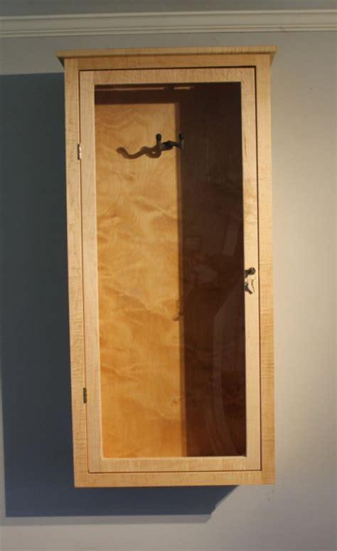 Acoustic Guitar Display Case, wall mount   aftcra