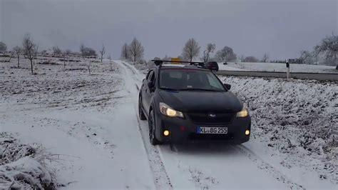 Subaru Crosstrek Snow by 2016 Subaru Crosstrek In The Snow