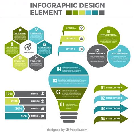 layout as an elements of visual design set of useful infographic elements in flat design vector