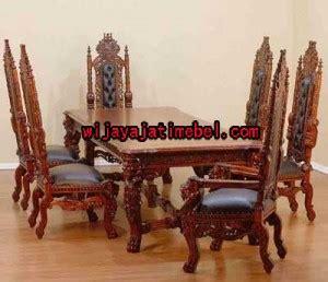 meja makan model kursi raja kursi makan ukir harga