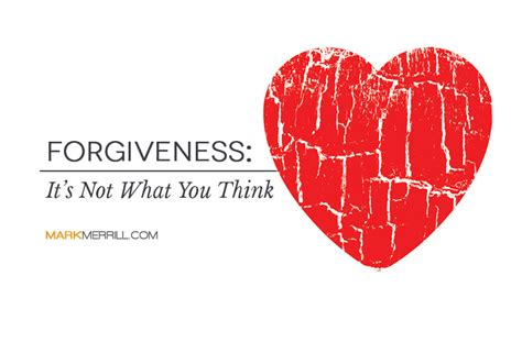 New Accessory Not What Youd Think by Forgiveness It S Not What You Think Merrill S