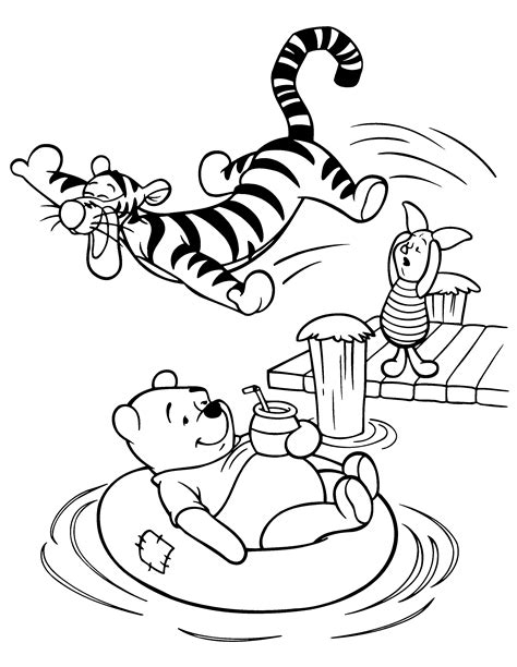 Coloring pages 187 winnie the pooh coloring pages