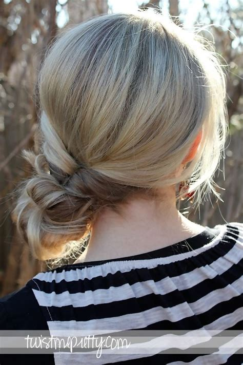 cute hairstyles you can sleep in topsy tail messy bun easy back to school hairstyles to