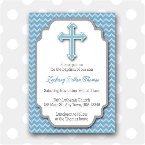 Free Printable Christening Invitation Card Templates by Baptism Invitation Free Printable Baptism Invitations