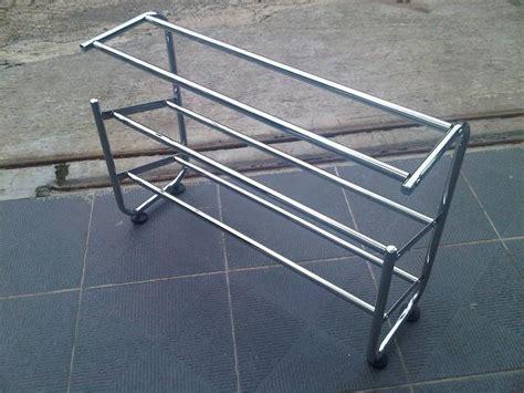 cara membuat jemuran aluminium cara membuat jemuran stainless rak sepatu stainless steel