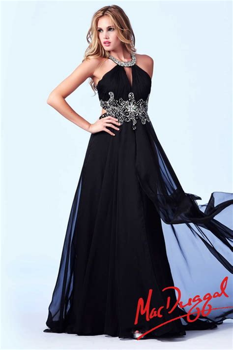 Black And Silver Evening by Black And Silver Prom Dresses