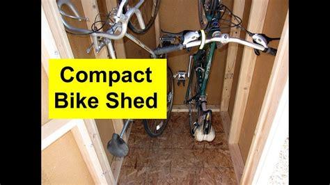 build  bike shed  floor youtube