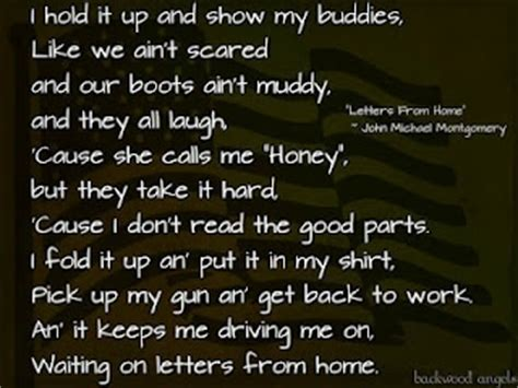 Letters From Home Lyrics by 9 Best Images About Marine Quotes On