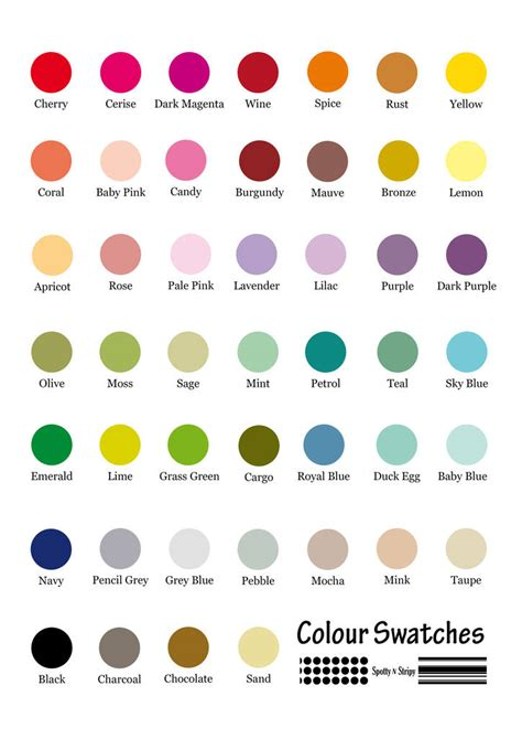 color names baby new baby name personalised print by spotty n stripy
