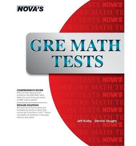 gre math section gre math tests jeff kolby 9781889057477