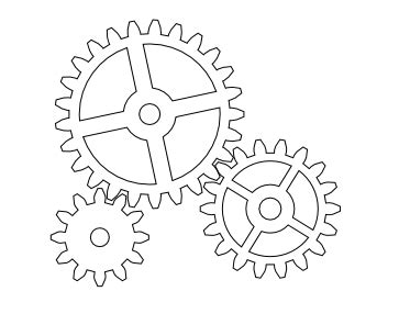 printable gear templates nicu s how to drawing gears in inkscape
