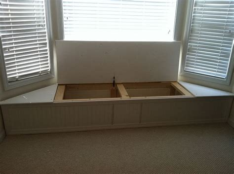 window with bench bay window flip top storage bench