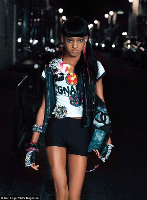 willow smith now 2014 willow smith stuns in karl lagerfeld shoot after shunning