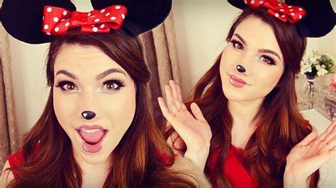 Mini Maus Schminkvorlage by Minnie Mouse Makeup Hair Diy Headband Ears I