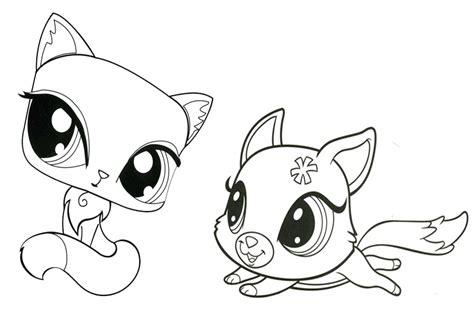 lps lizard coloring page littlest pet shop para colorear pintar e imprimir
