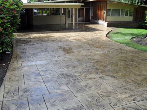 cmdt systems decorative sted concrete driveways in vancouver lower mainland