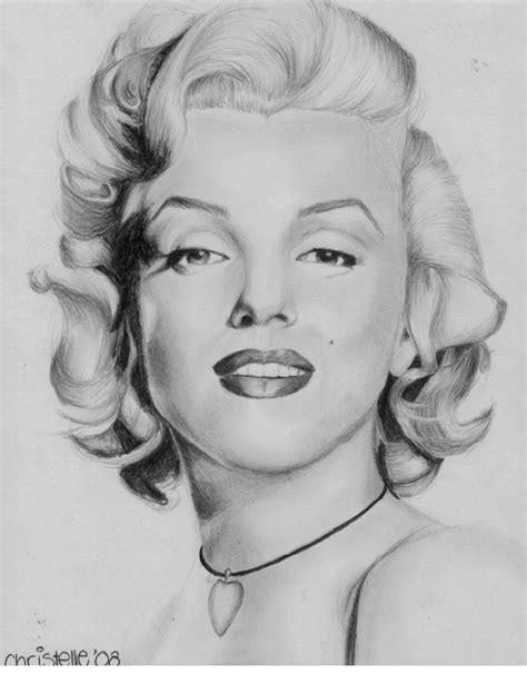 marilyn monroe zeichnung marilyn monroe drawing by kaleidosc0pe on deviantart
