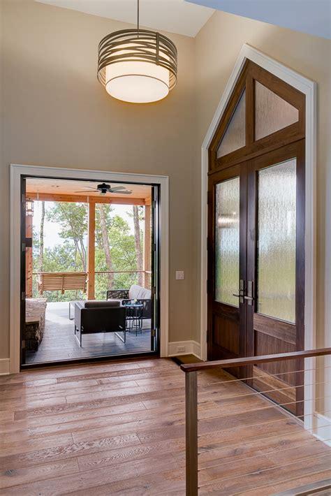 waynesville mountain modern craftsman house acm design