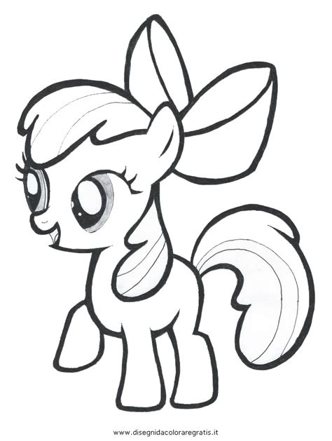 free coloring pages of my little pony apple rose