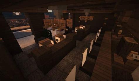 awesome Built In Bar Ideas #2: Oslo-Bar-Grill-Wok-minecraft-building-ideas-modern-town-15.jpg