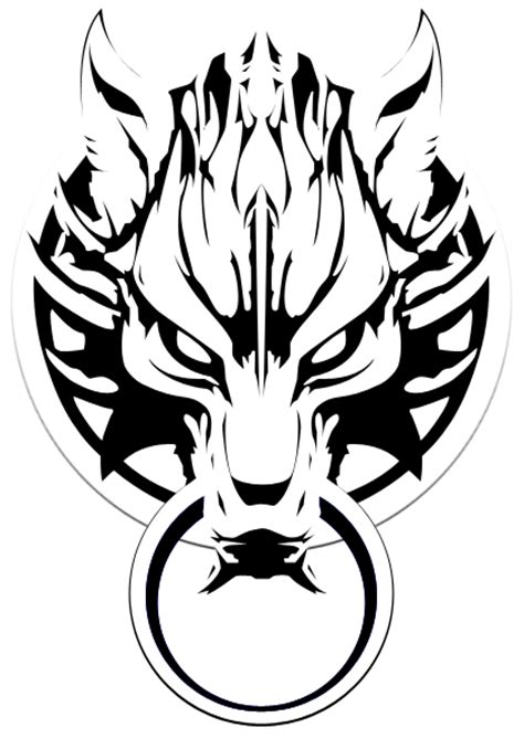 cloud wolf head tatoo clipart best clipart best
