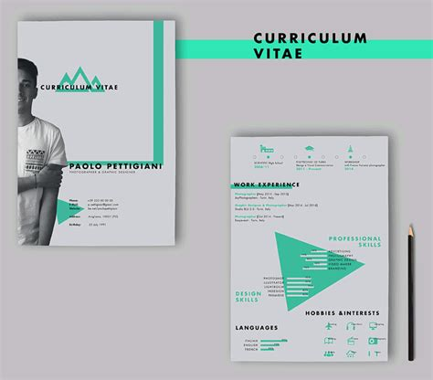 free templates for designers 20 beautiful free resume templates for designers