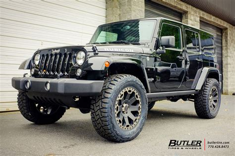 20 Wheels For Jeep Wrangler Jeep Wrangler With 20in Black Rhino Warlord Wheels