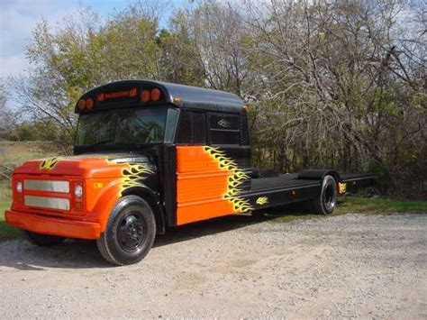 bus conversions cers etc pinterest schoolbus flatbed custom flat bed school bus stuff and