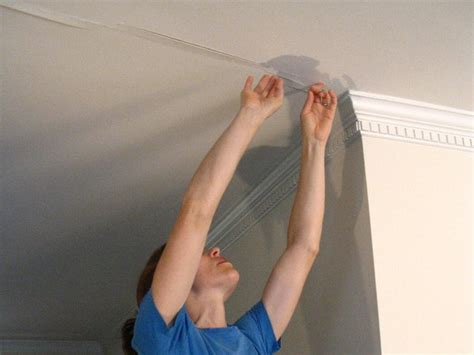 Patching Ceiling Cracks by How To Cover A Ceiling How Tos Diy