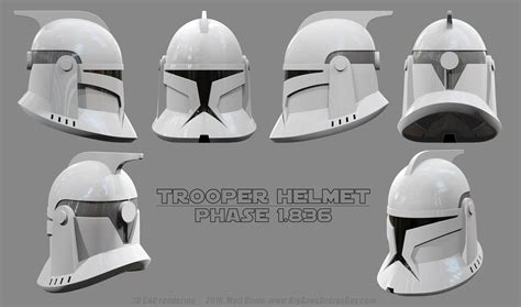 How To Make A Clone Trooper Helmet Out Of Paper - clonetrooper helmet schematic 01 by ravendeviant on deviantart