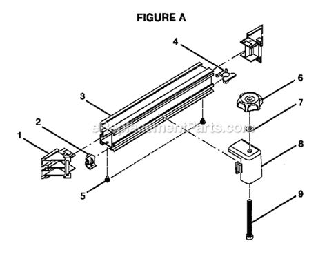 ryobi table saw parts ryobi bts21 parts list and diagram ereplacementparts