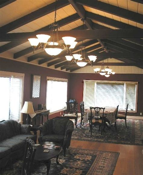 Exposed Beam Ceiling Exposed Beam Ceiling Interiors Living Spaces