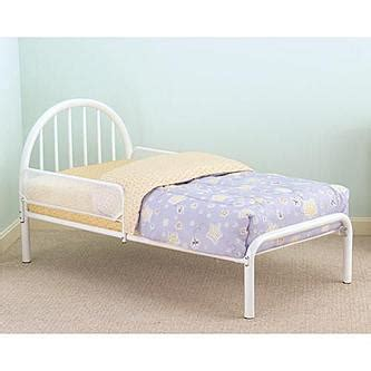 cosco toddler bed cosco metal toddler bed with side bed rails