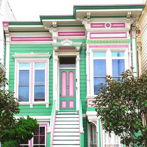 san francisco colorful houses vibrant photos of san francisco s colored houses