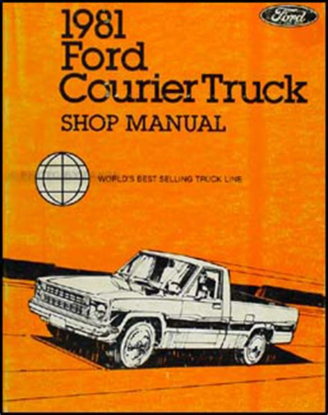 car repair manual download 1987 ford courier on board diagnostic system base standard cab pickup 2 door
