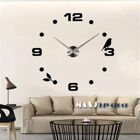 wall wandtattoo designer wanduhr wohnzimmer wandtattoo design vogel deko