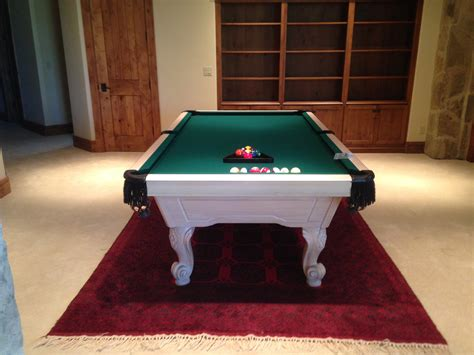pool table assembly for bob b billiards