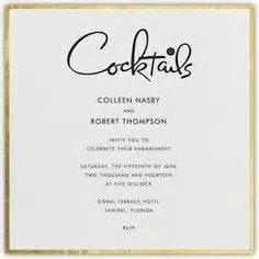 Cocktail Hour Wedding Invitation Wording wedding invitation wording cocktail hour and reception to