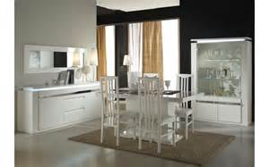 Charming Tete De Lit Blanc #12: Meubles-salle-a-manger-laque-blanc-eclairage-riva.jpg