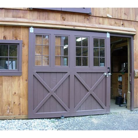 Sliding Barn Doors For Garage Best 25 Sliding Garage Doors Ideas On Garage Door Track Unique Garage Doors And