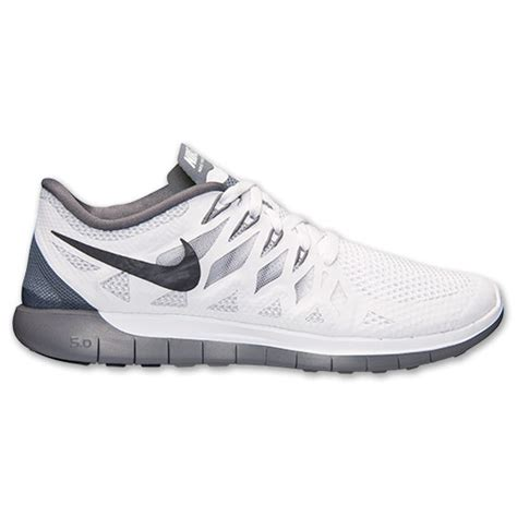Grey nike free run 5.0 women's bathing