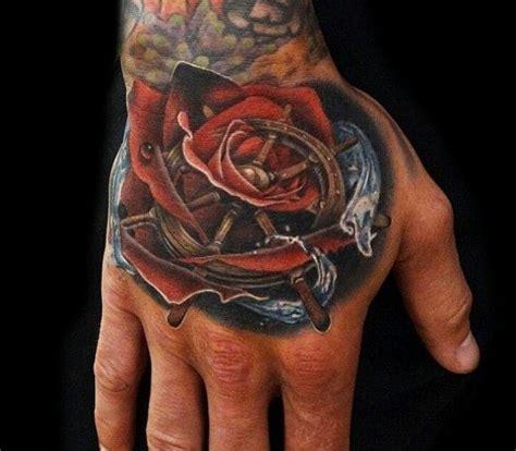 hand tattoo reviews 32 original rose tattoos tattoodo
