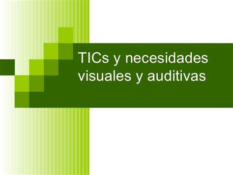 Imágenes Visuales Y Auditivas | ti cs para deficiencia visual y auditiva