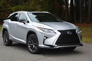 Lexus Rx 350 Mpg 2016 Lexus Rx 350 And 450h Review And Road Test By Larry