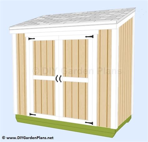 Easy To Build Storage Shed by Easy To Follow Guide To Build A Small Lean To Shed