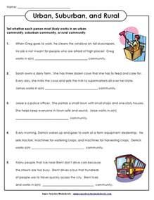 third grade social studies worksheets communities 1000