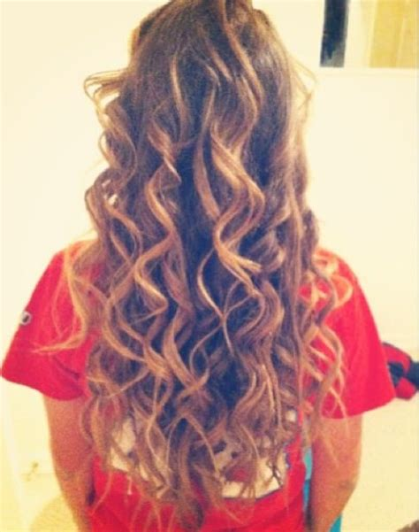 cute hairstyles for curling wand long hair loose curls use a conair curling wand for this
